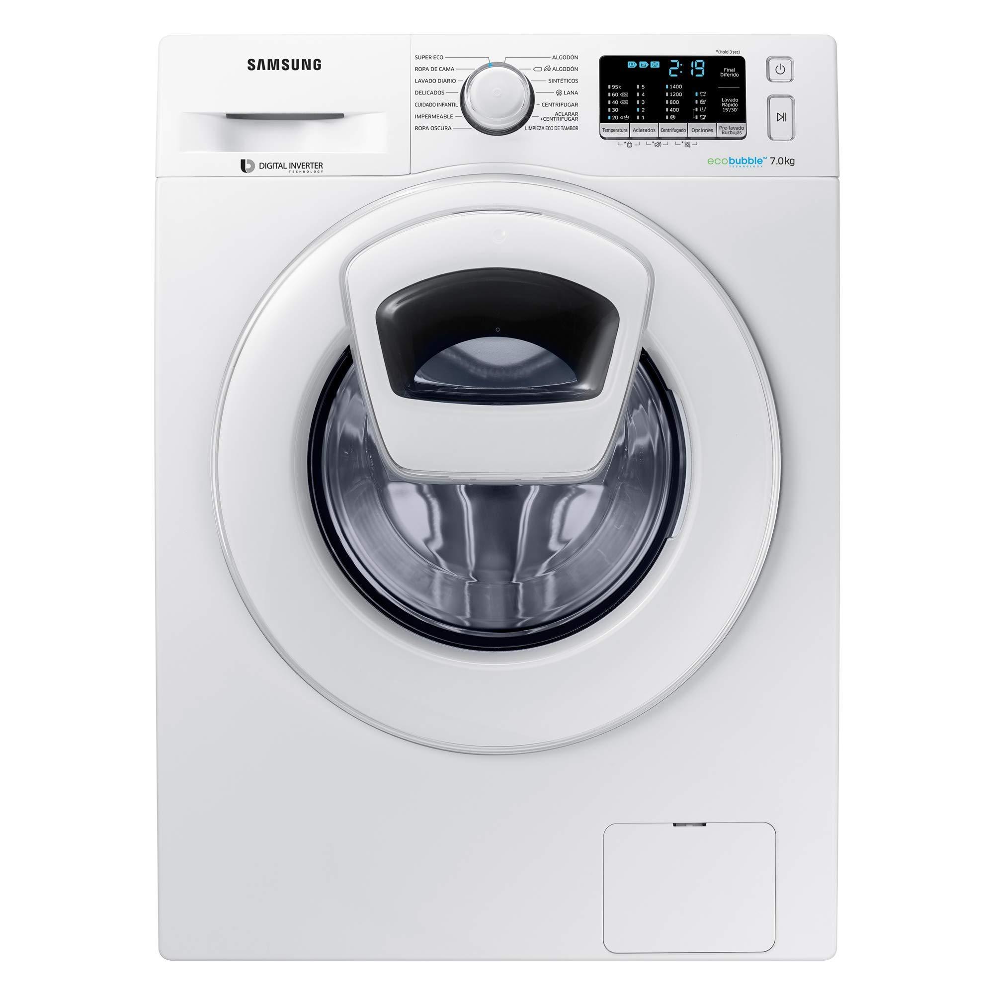 Samsung-WW70K5410WW-Waschmaschine-freistehend-Frontlader-7-kg-1400-Umin-A-Wei