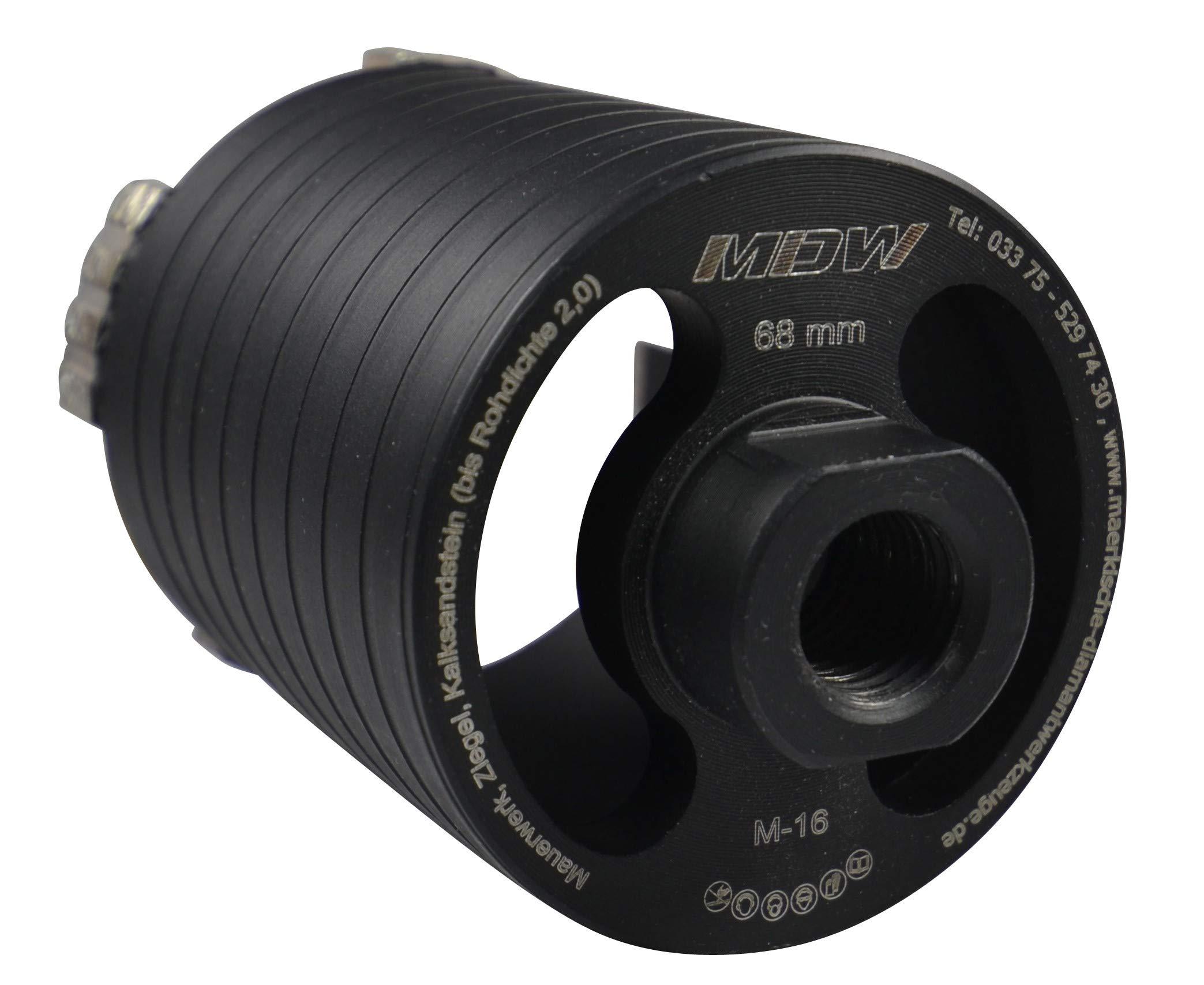Diamant-Trocken-Kernbohrmaschine-EHD-1500-inklusive-Staubabsaugung-Diamant-Dosensenker-Laser-Black-Turbo