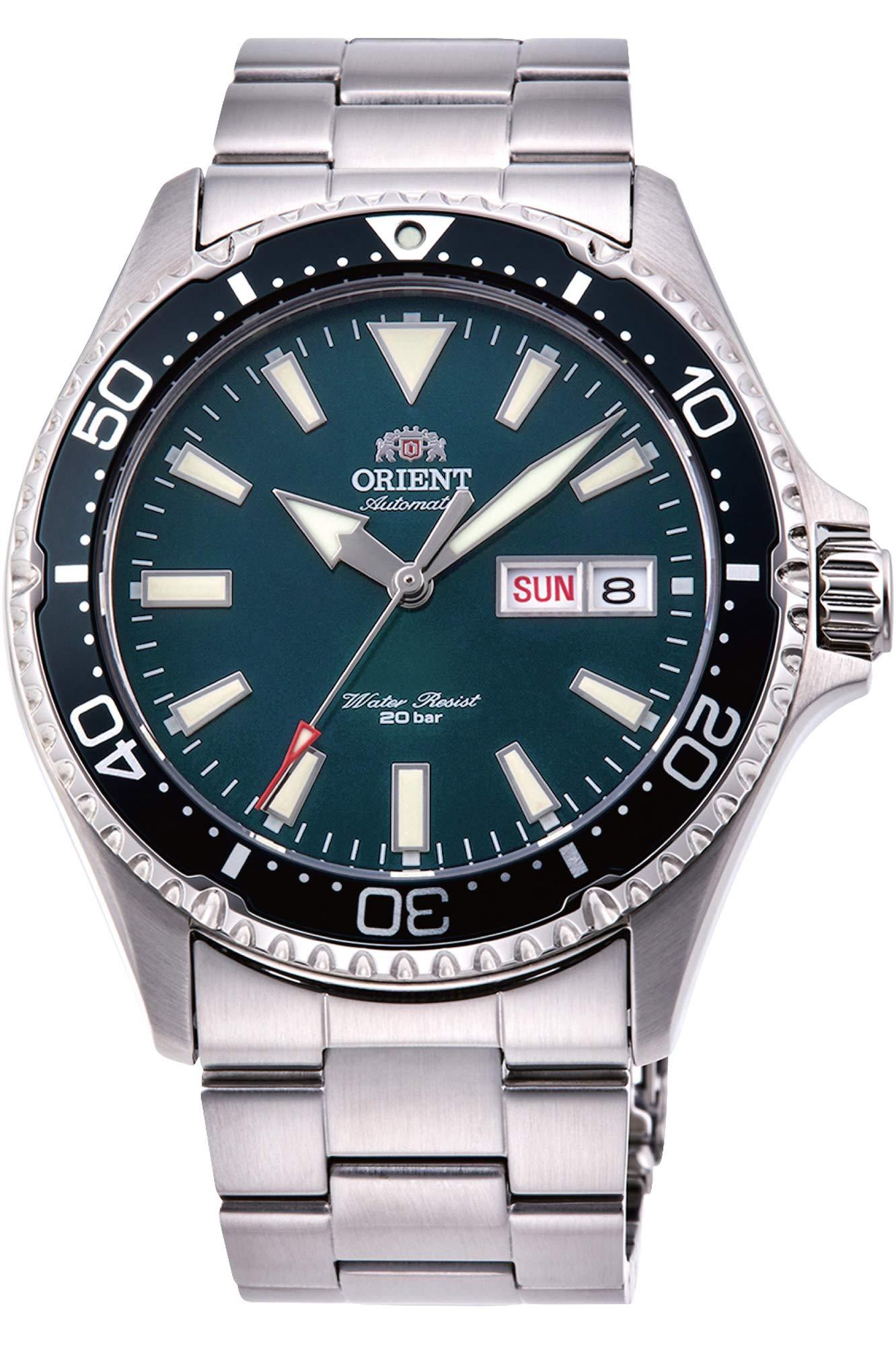 Orient-Unisex-Erwachsene-Analog-Automatik-Uhr-mit-Edelstahl-Armband-RA-AA0004E19B