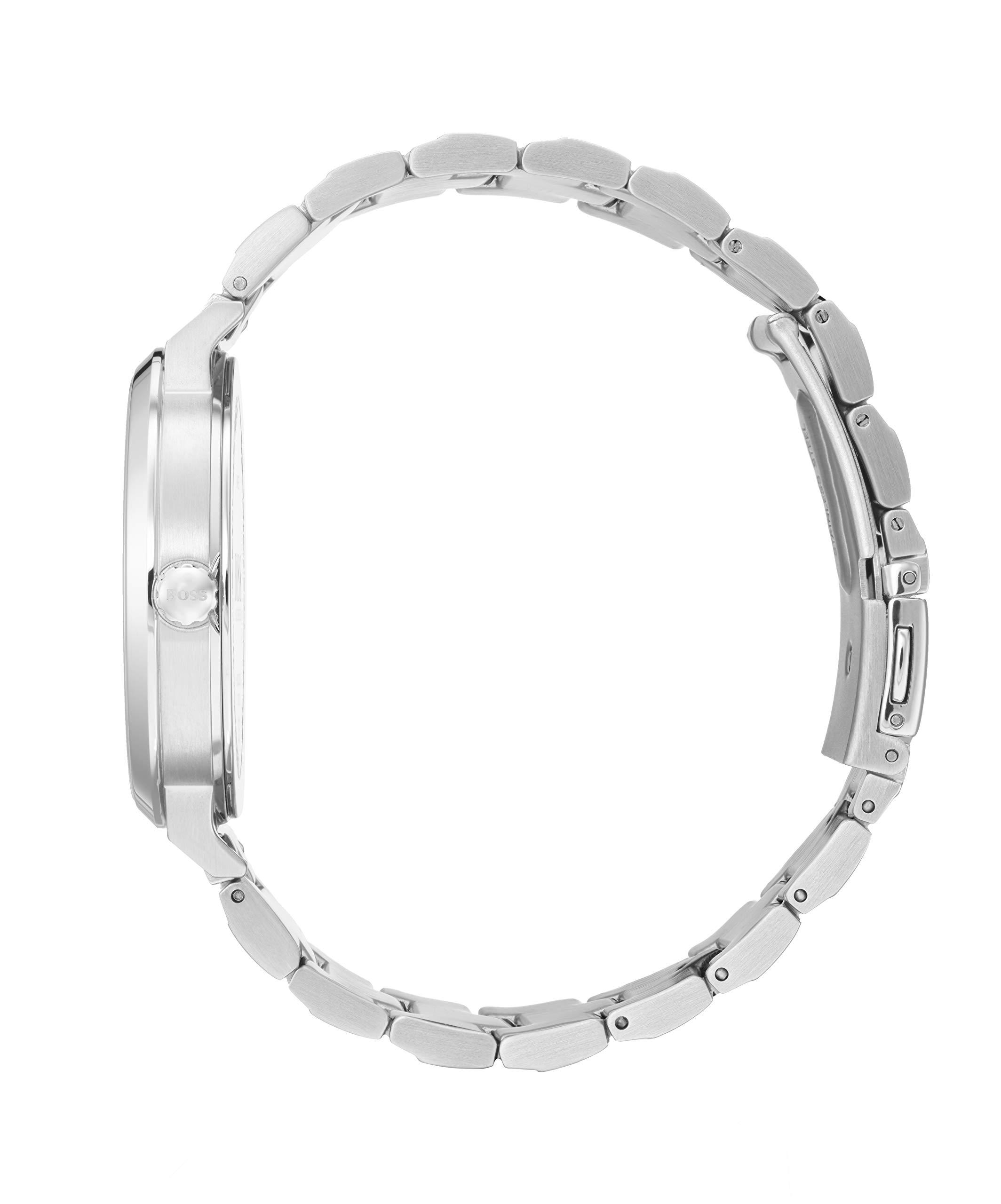 Hugo-BOSS-Damen-Analog-Quarz-Uhr-mit-Edelstahl-Armband-1502501