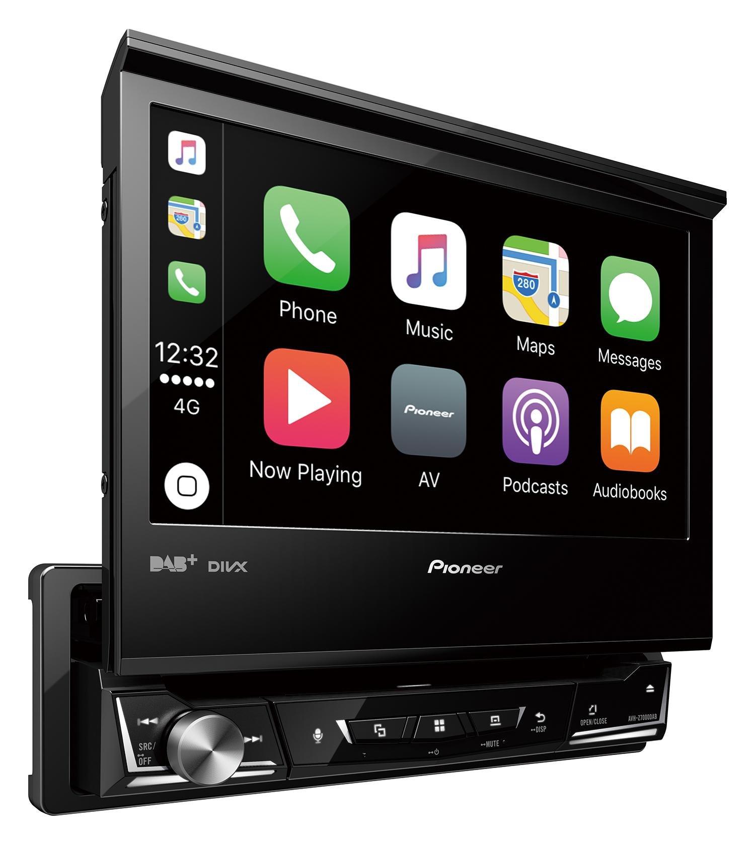 Mediacenter-Moniceiver-1-DIN-AVH-X7800BT-Pioneer-Radio-mit-ausfahrbarem-Bildschirm-7-Zoll-Touchscreen-Monitor