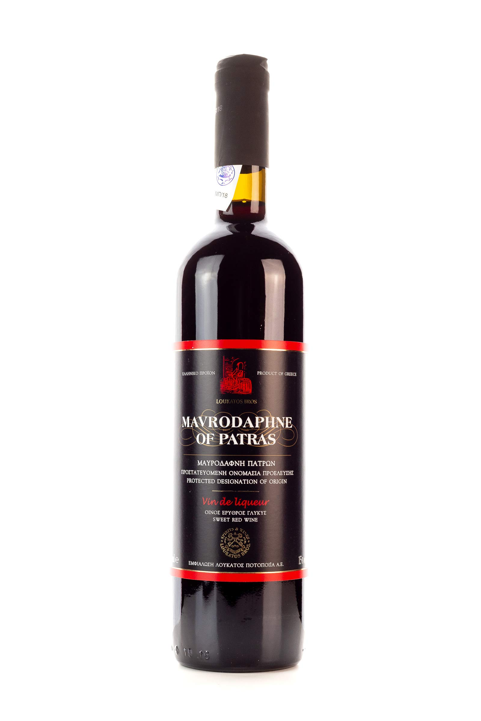 Mavrodaphne-Loukatos-15-750ml-Flasche-griechischer-Swein-Likrwein
