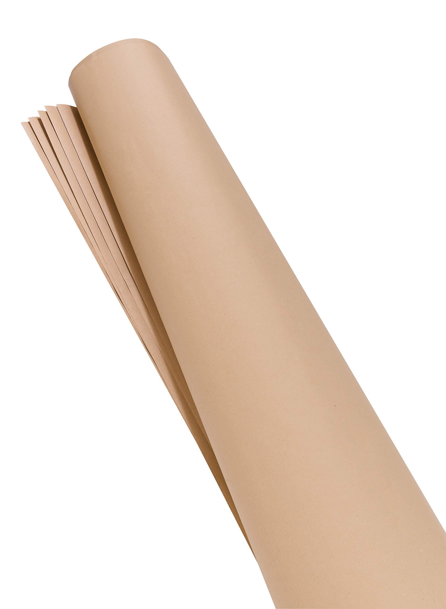 Franken-UMZ-MP-Moderationspapier-140-x-110-cm-Kraftpapier-80-gqm-100-Stck-beige