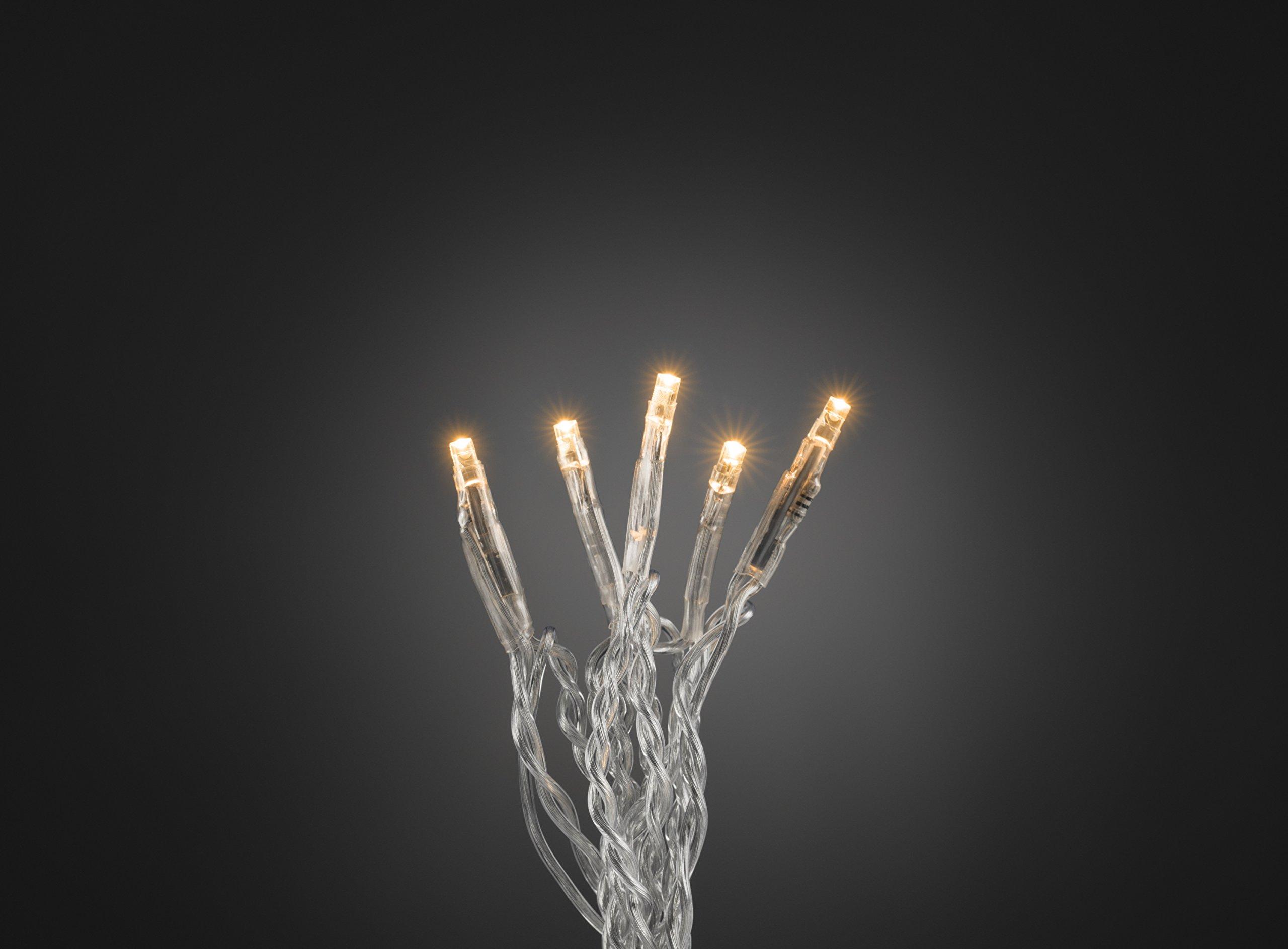 Micro-LED-Lichterkette-transparentes-Kabel