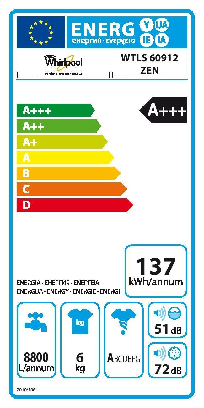 Whirlpool-WTLS-60912-ZEN-Waschmaschine-TLA-137-kWhJahr-1200-UpM-6-kg-8800-LJahrleise-mit-51-dBEcoMonitorwei