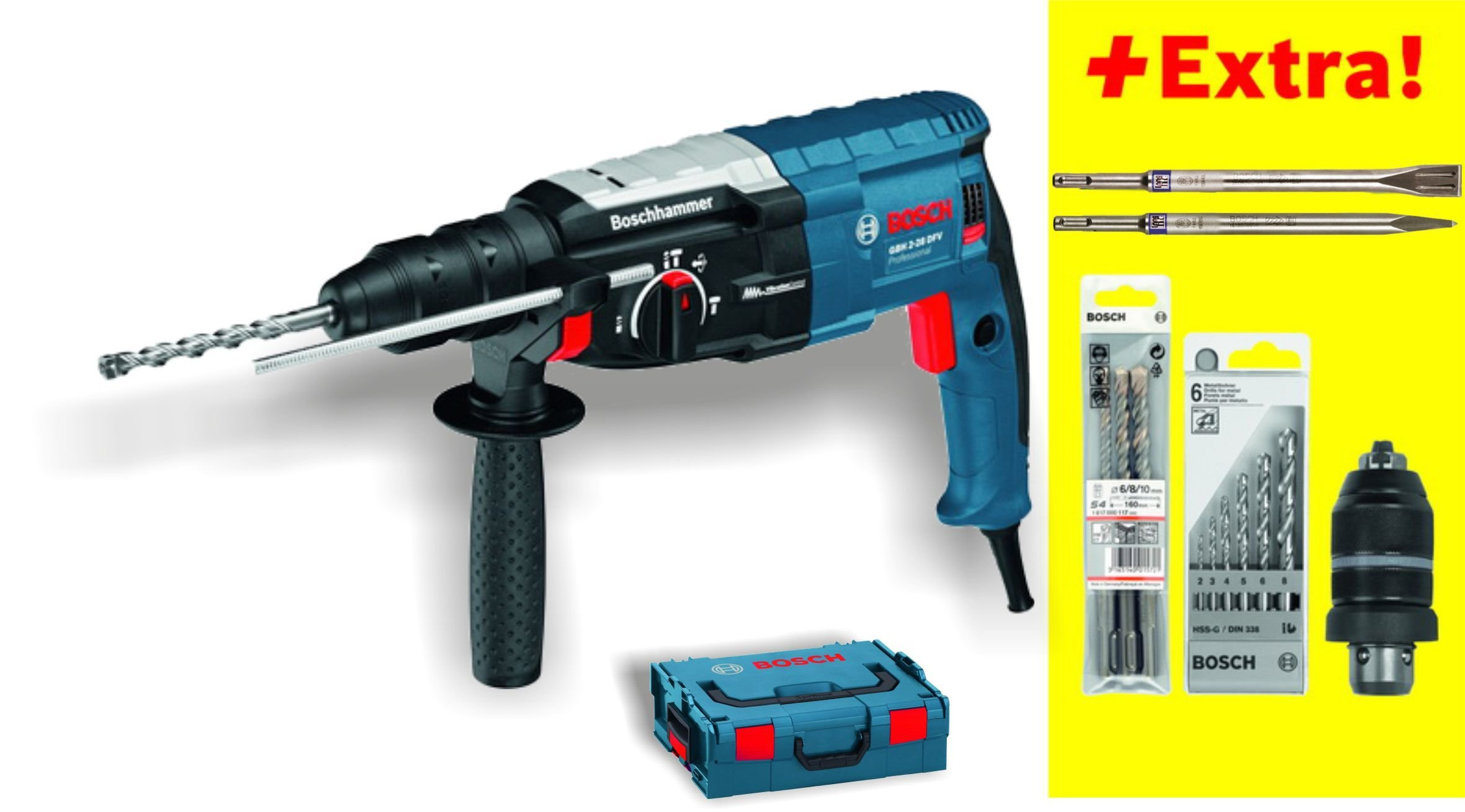 BOSCH-Bohrhammer-GBH-2-28-DFV-BSS-611267202
