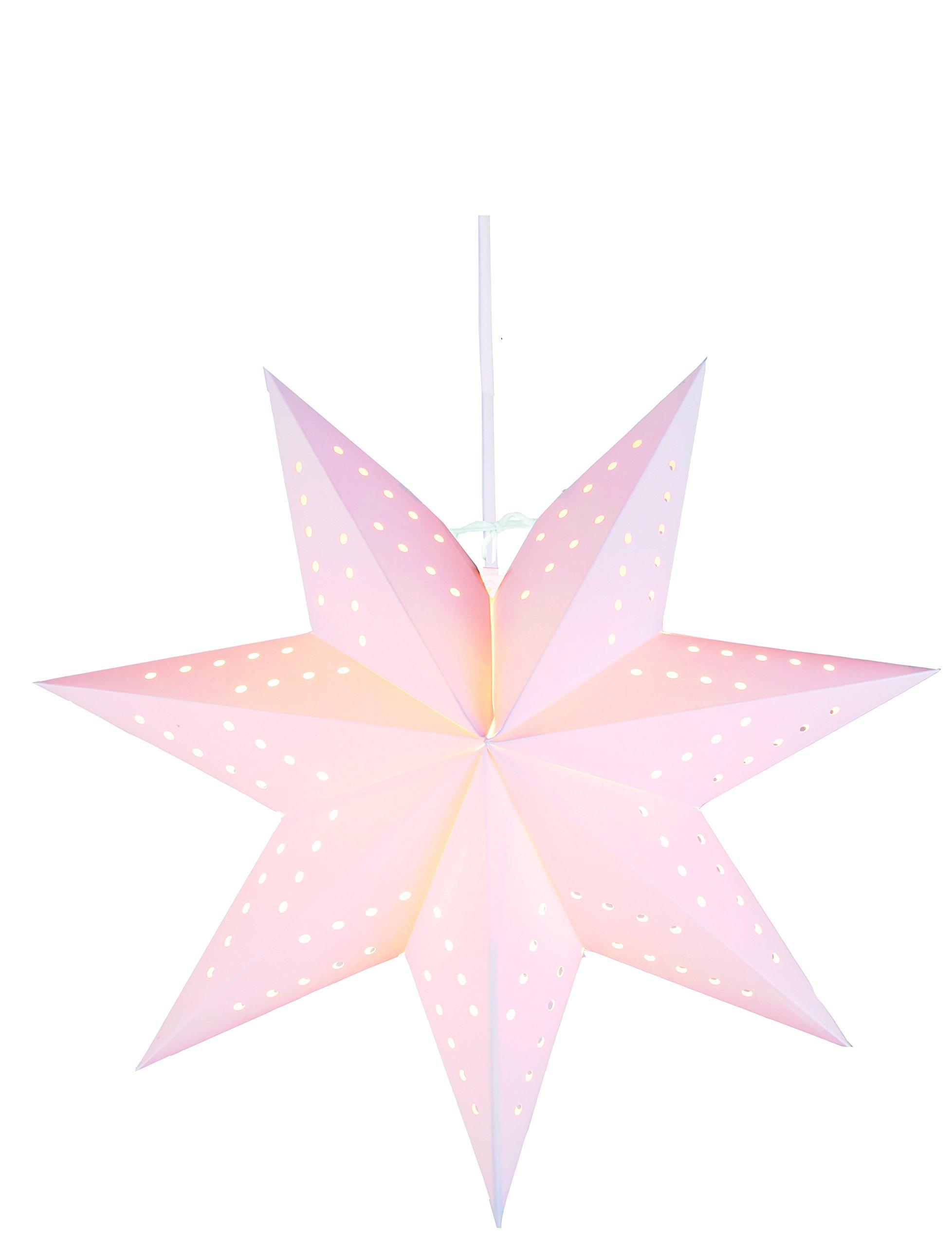 Kamaca-Star-Light-schner-leuchtender-Stern-perfekt-fr-Das-Fenster-und-die-Dekoration-Stern-Inklusive-350-Meter-Elektrokabel-mit-Standard-E-14-Fassung-mit-EIN-Aus-Schalter