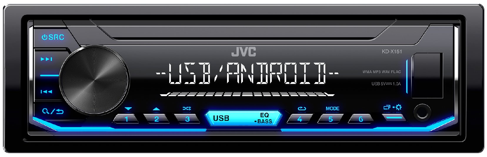 JVC-KD-X151-Digital-Media-Receiver