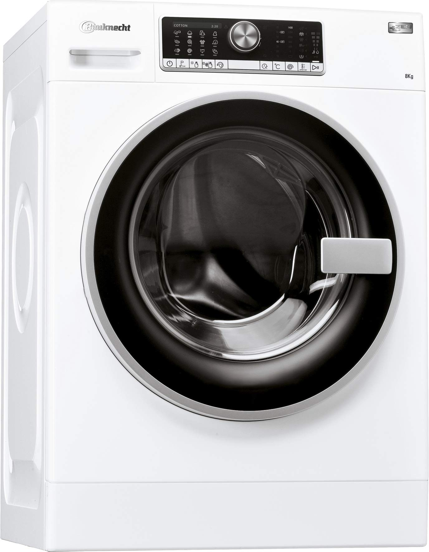 Bauknecht-WM-AutoDos814ZEN-Waschmaschine-FrontladerA-50-B-8-kg-1400-UpMautomatische-Dosierung-AutoDoseZEN-Direktantriebleise-mit-49-dBSoftMoveVollwasserschutzKurz-OptionFertigIn