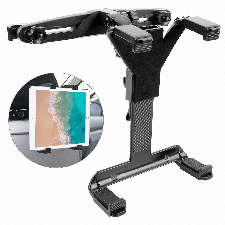 Tablet-Halterung-Auto-7-12-Zoll-Verstellbare-KFZ-Kopfsttzen-Tablet-Halterung-360-Grad-Drehung-Universal-fr-iPad-234MiniAir-Samsung-Galaxy-Tab-DVD-Player-und-die-Meisten-7-12-Zoll-Tablets