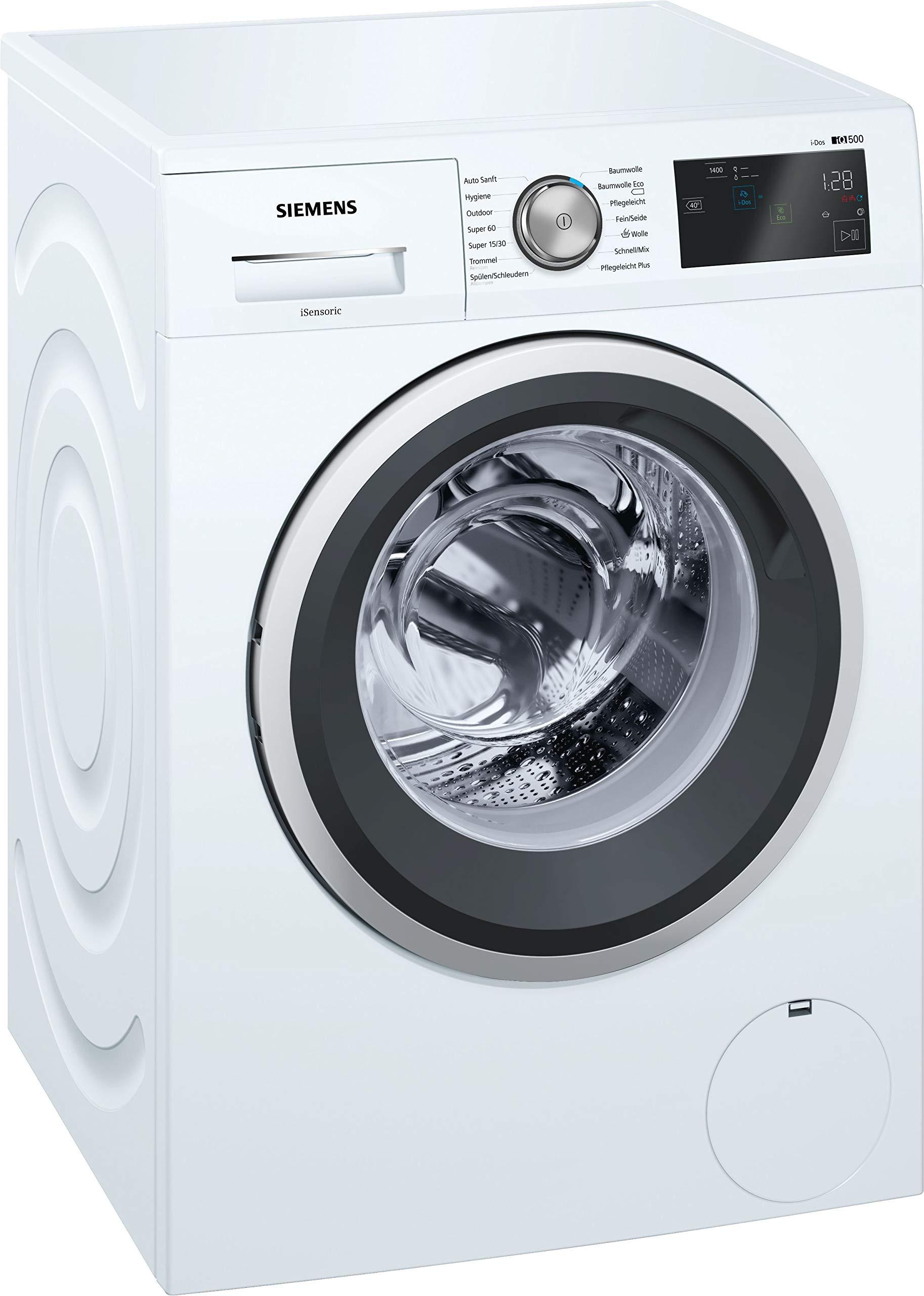 Siemens-iQ500-WM14T6A2-Waschmaschine-800-kg-A-137-kWh-1400-Umin-Dosierautomatik-iDos-Nachlegefunktion-aquaStop-mit-lebenslanger-Garantie