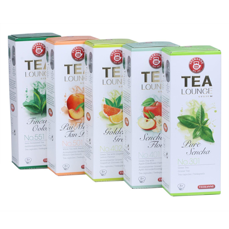 Teekanne-Tealounge-Kapseln-Grner-Tee-Sortiment-mit-5-Sorten-40-Kapseln