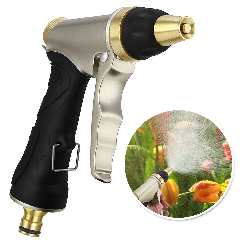 Garten-Handbrause-HN-01-Garten-Spritzpistolen-Hochdruck-Gartenbrause-100-Metal-fr-Autowaschanlagen-Garten-Bewsserung