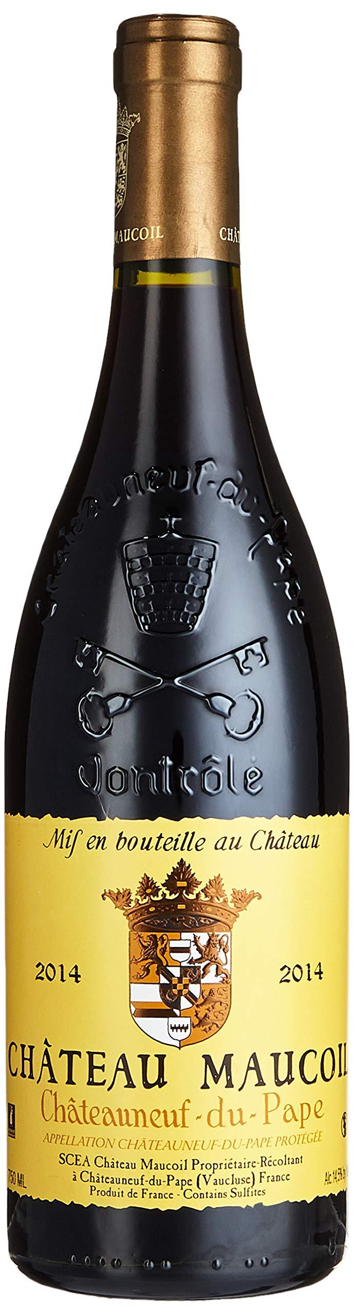 Chteau-Maucoil-Chteauneuf-du-Pape-Tradition-de-Maucoil-Cuve-2014-Trocken-1-x-075-l-Auszeichnungen-Wine-Spectator-92-Punkte-Jg-2014