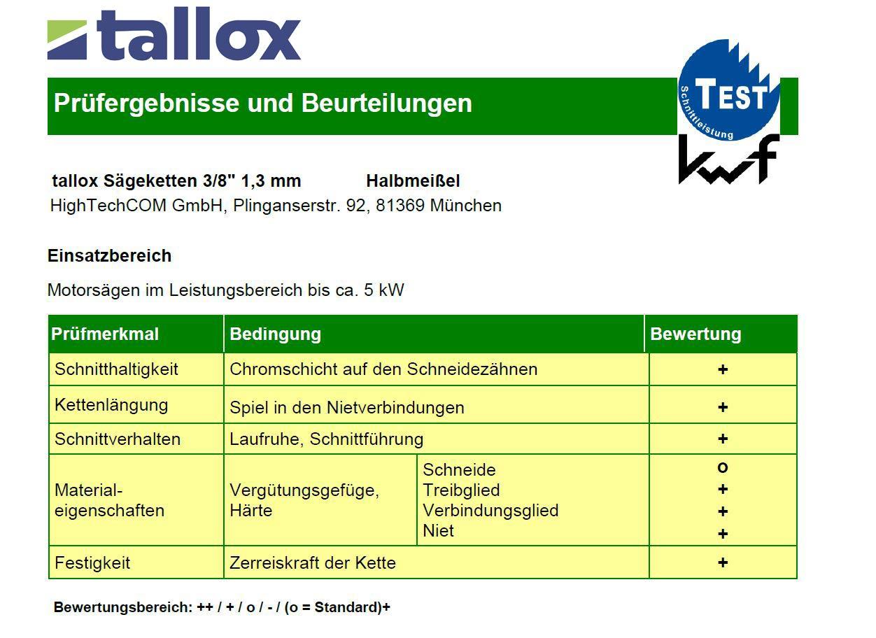 tallox-Sgekette-rckschlagarm-38-13-mm-57-TG-40-cm-Schwert-kompatibel-mit-DOLMAR-ECHO-EINHELL-HITACHI-und-andere