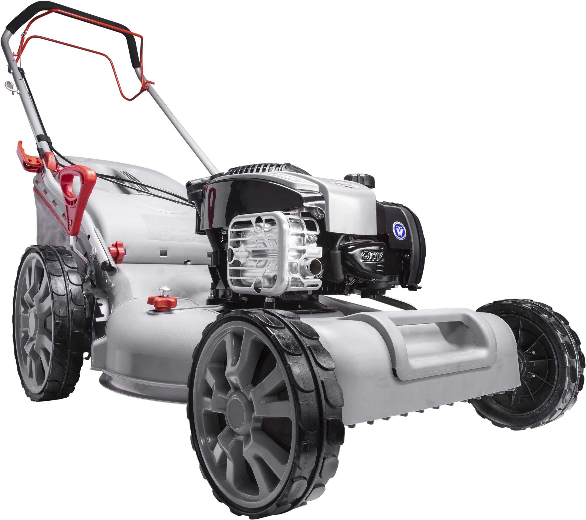 IKRA-Benzin-4in1-Rasenmher-Mulcher-IBRM-51S-BS625EXI-Briggs-Stratton-Motor-Schnittbreite-508cm