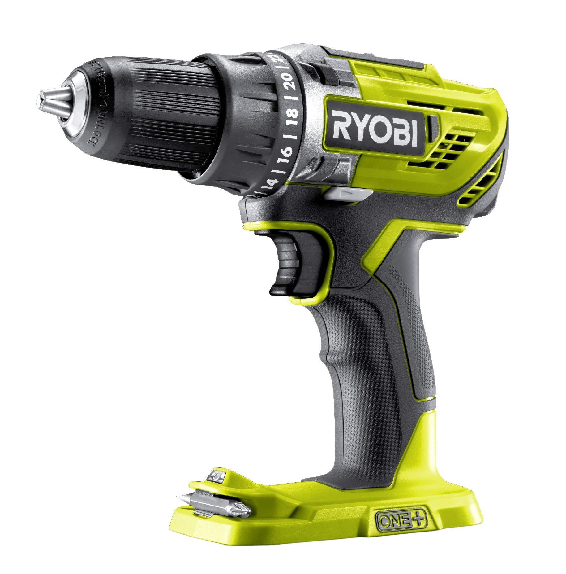 Ryobi-Bohrschrauber-2-Gang-Bohrfutter-13-mm-LED-Beleuchtung-ohne-Akku-und-Ladegert–R18DD3-0-18-V-Hyper-Grn