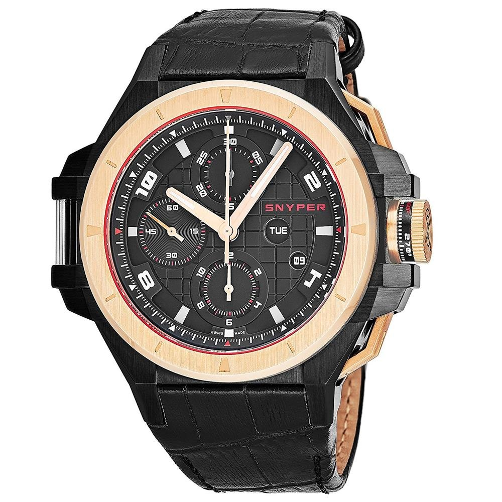 Snyper-Herren-Armbanduhr-44mm-Armband-Kalbsleder-Schweizer-Automatik-5045000