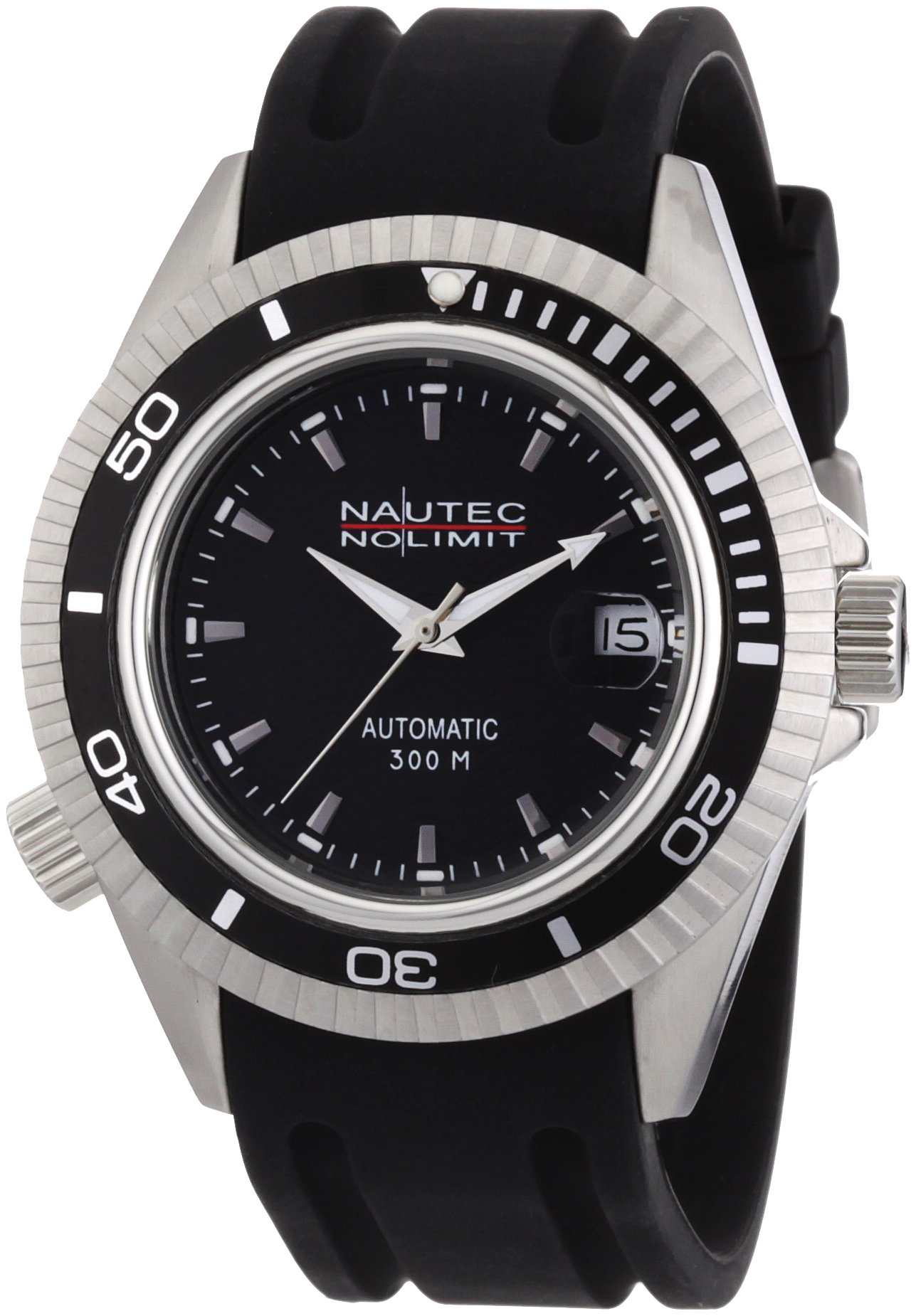 Nautec-No-Limit-Herren-Armbanduhr-Shore-Analog-Automatik-SH-ATRBSTBKBK