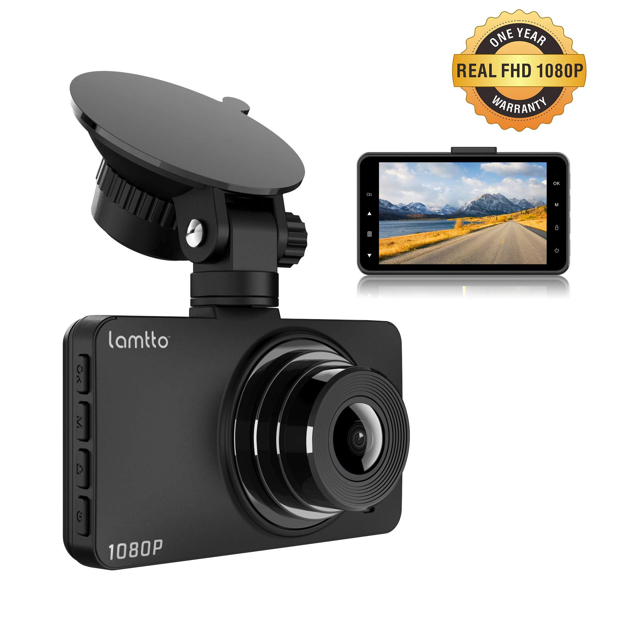 Dash-Cam-Dash-Cams-for-Cars-Lamtto-Car-Camera-1080P-Full-HD-3-LCD-Screen-170Wide-Angle-Dashboard-Camera-G-Sensor-WDR-Parking-Monitor-Loop-Recording-Motion-Detection-Car-Driving-Recorder-Camera