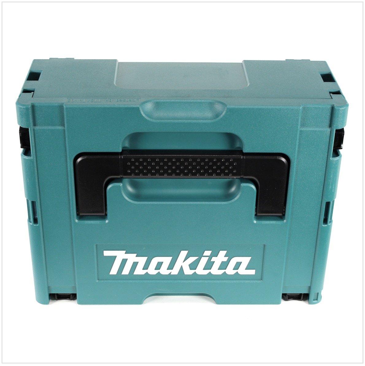 Makita-MAKPAC-3-Systemkoffer-mit-Universaleinlage-fr-Makita-18-V-Akku-Gerte-Schrauber-Sgen-Schleifer