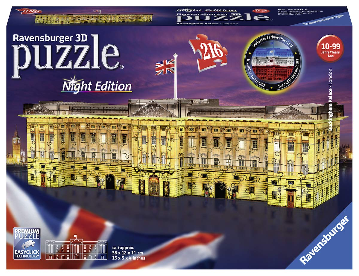 Ravensburger-Puzzle-12529-Ravensburger-12529-Buckingham-Palace-bei-Nacht-3D-Puzzle