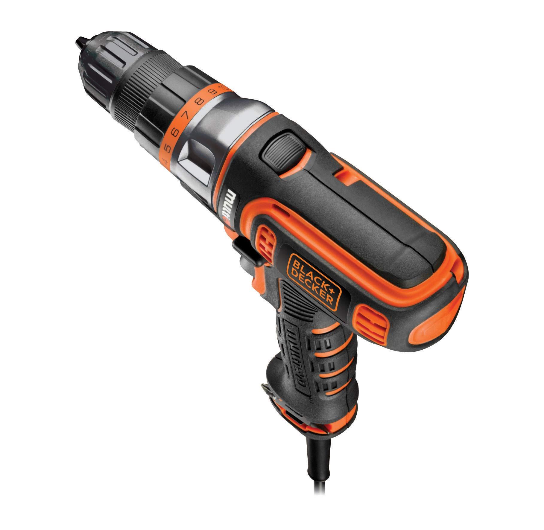 BlackDecker-Multievo-Elektro-Multifunktionswerkzeug-Einstiegsset-300-W-werkzeugloser-Kopfwechsel-10-Drehmomentstufen-inkl-Koffer-MT350K