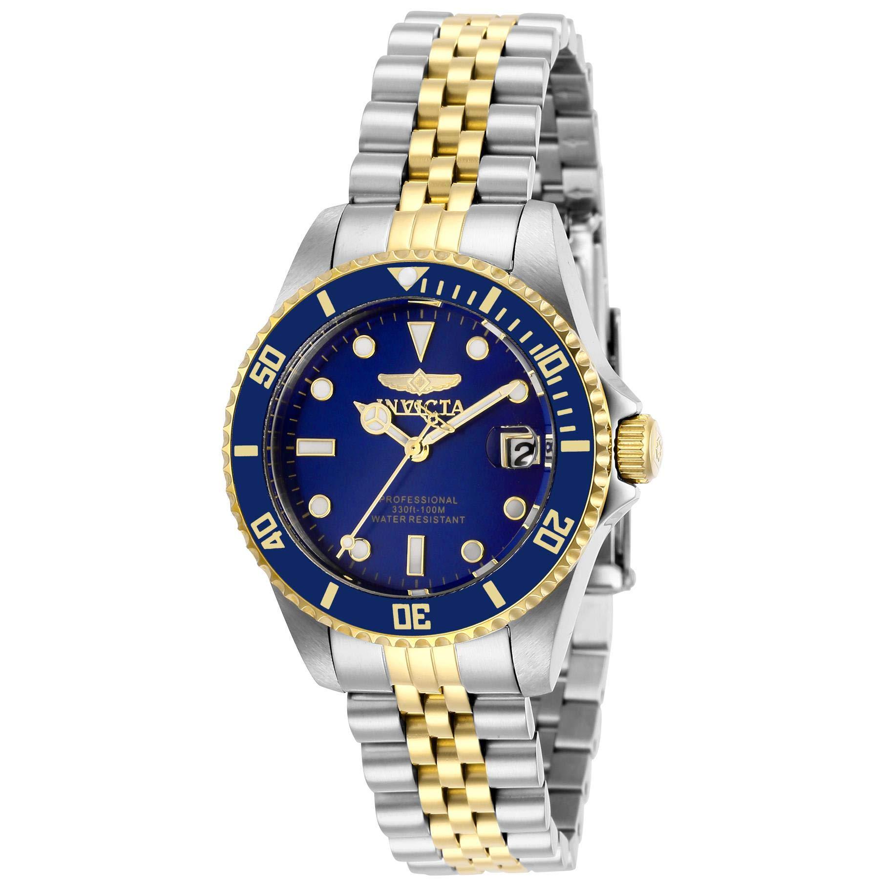 Invicta-PRO-Diver-Damen-Armbanduhr-Armband-Edelstahl-Gehuse-Quarz-29188