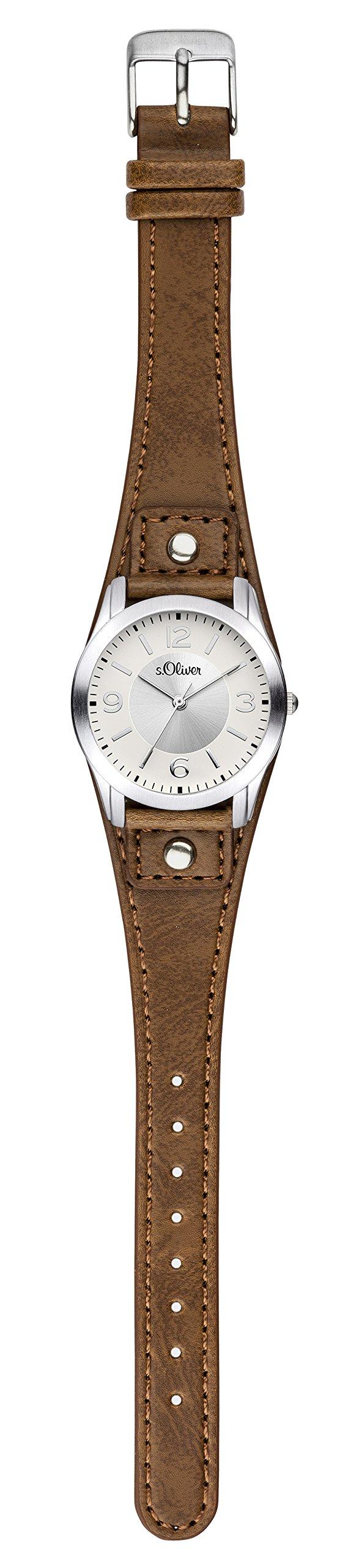 SOliver-Damen-Analog-Quarz-Armbanduhr-SO-2946-LQ
