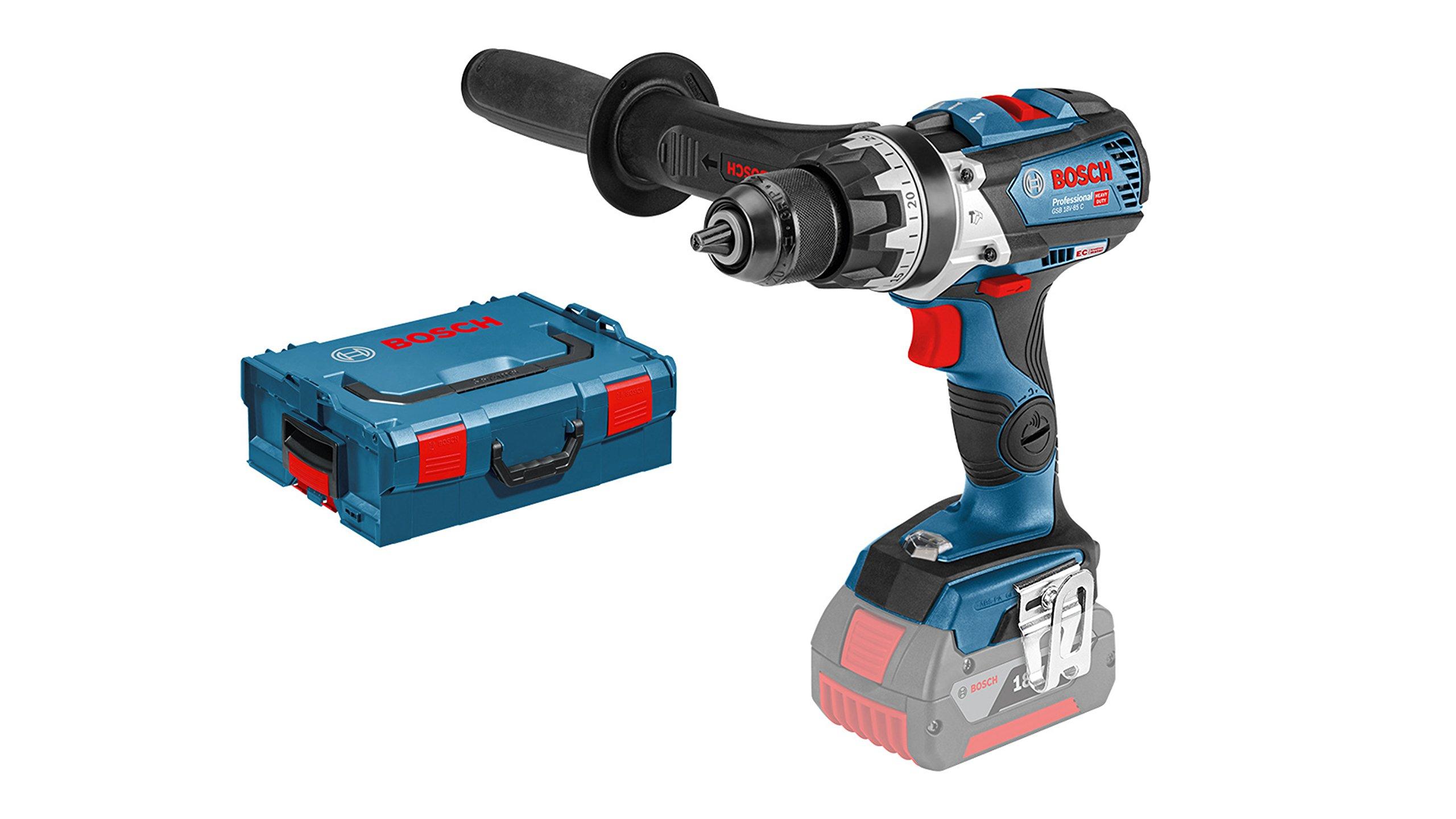 Bosch-Professional-Akku-Schlagbohrschrauber-GSB-18-V-85-C-ohne-Akku-18-Volt-Schrauben–max-12-mm-in-L-BOXX
