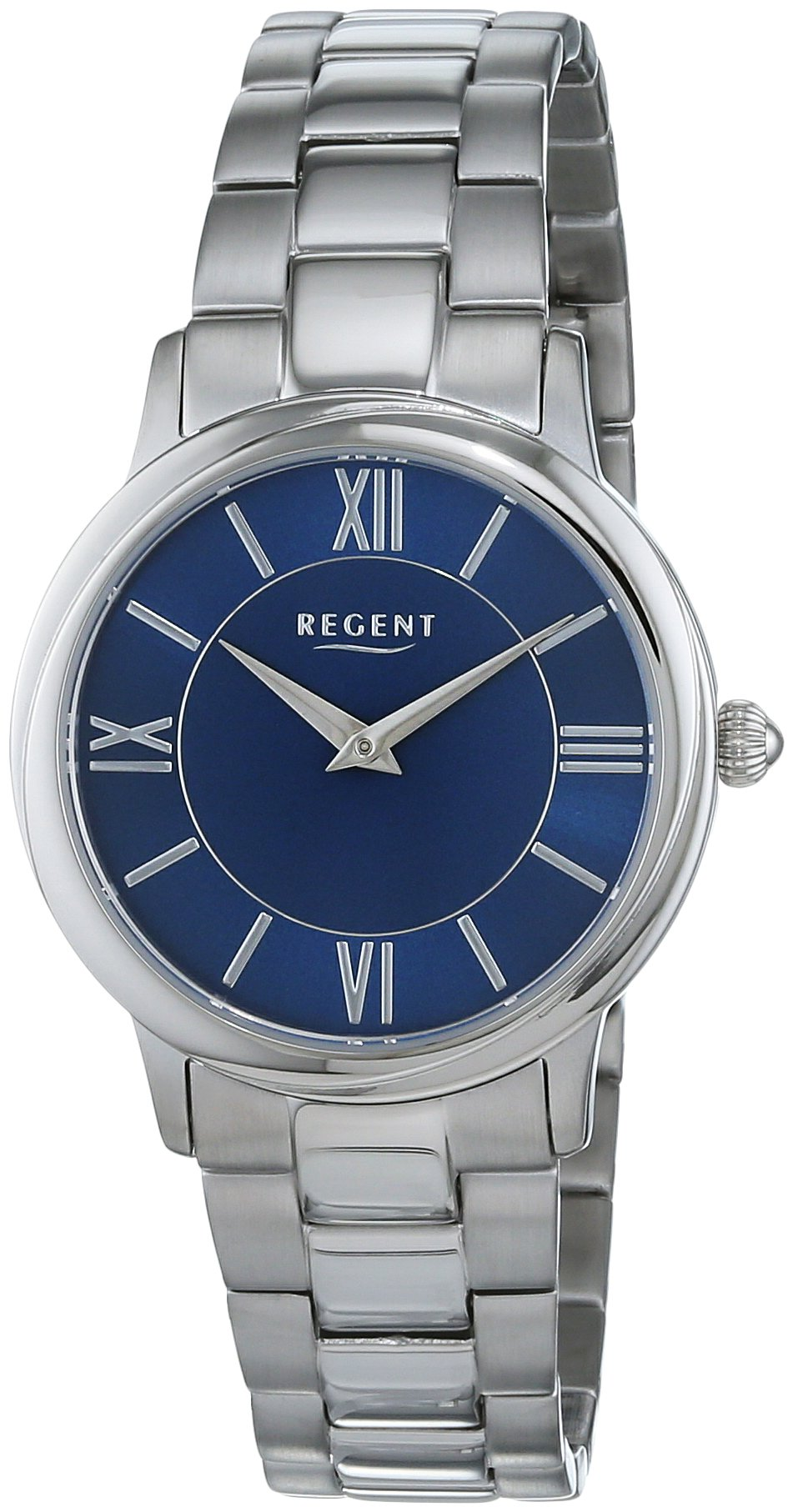 REGENT-Damen-Analog-Quarz-Uhr-mit-Edelstahl-Armband-12221038