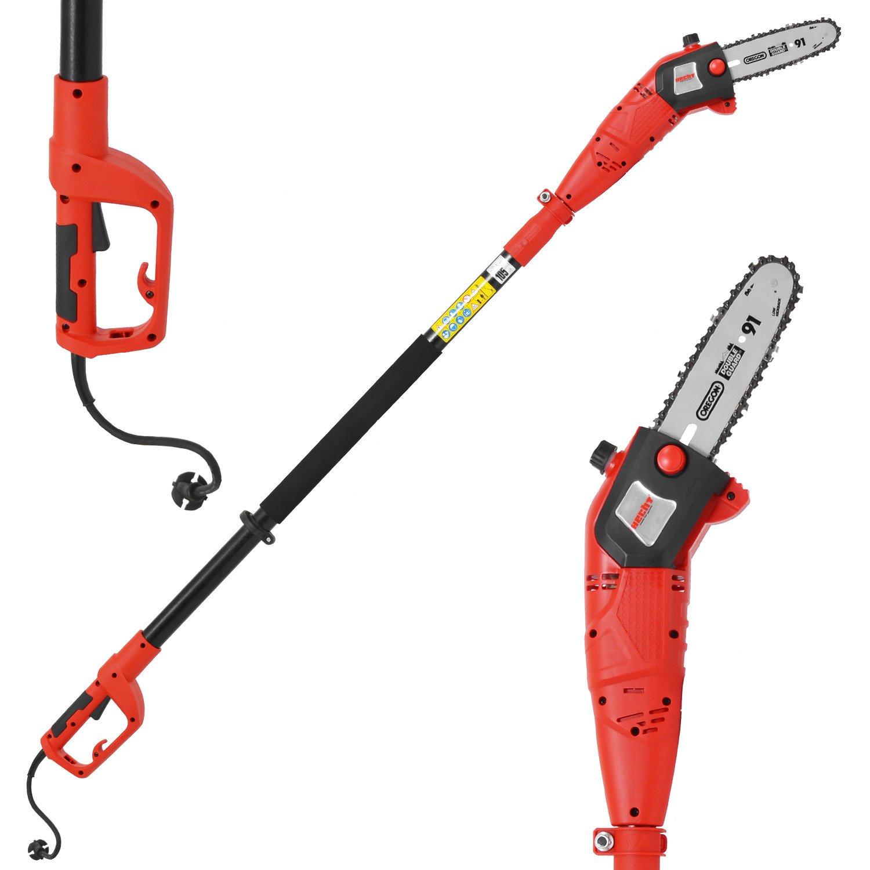 HECHT-Elektro-Hochentaster-976-W-Ast-Kettensge-Profi-Astsge-750-Watt-Schwertlnge-24-cm-Arbeitshhe-bis-ca-4-m