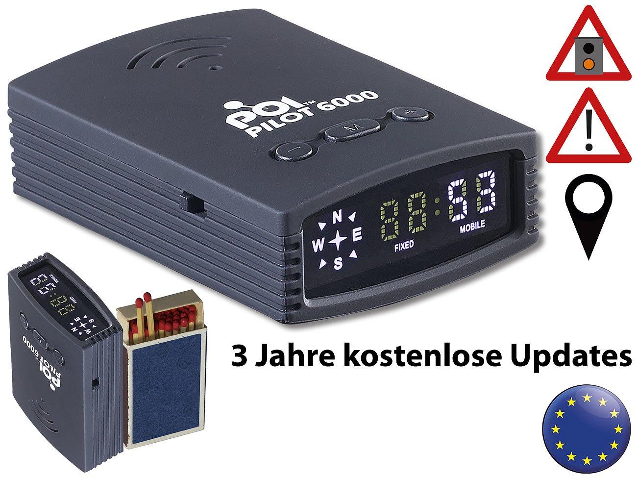 POI-Pilot-6000-POI-Pilot-GPS-Gefahren-Warner-mit-POI-Daten-fr-Europa-3-Jahre-kostenl-Updates-Blitzwarner