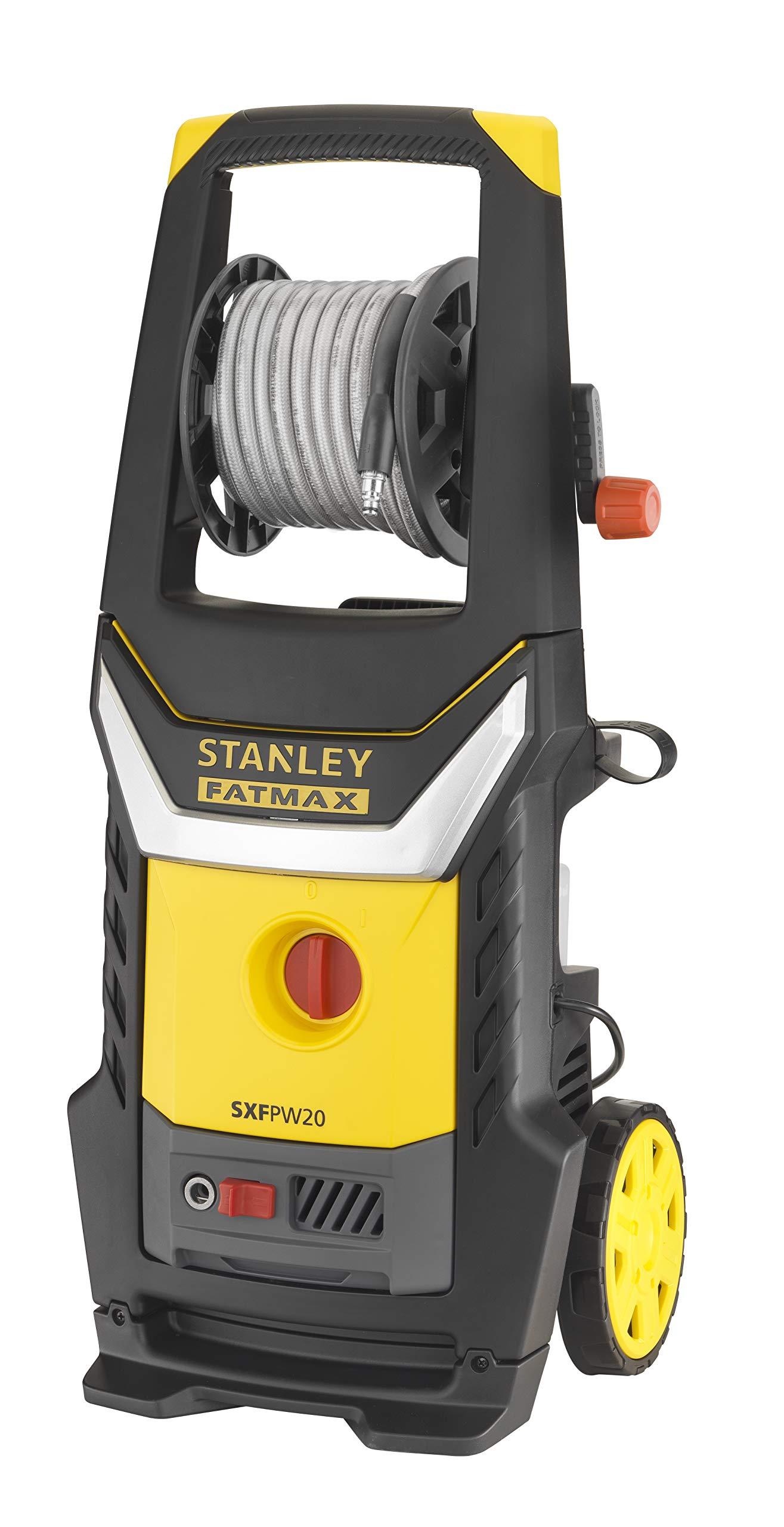 Stanley-Fatmax-SXFPW20E-Hochdruckreiniger-2000-W-140-bar-440-lh-mit-groen-Rdern