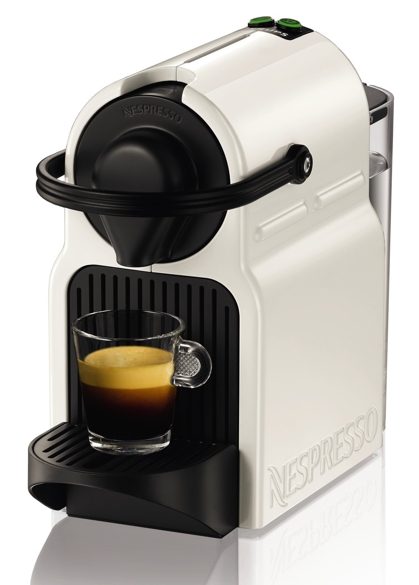 Krups-Nespresso-XN1001-Inissia-Kaffeekapselmaschine-19-bar-weiZertifiziert-und-Generalberholt