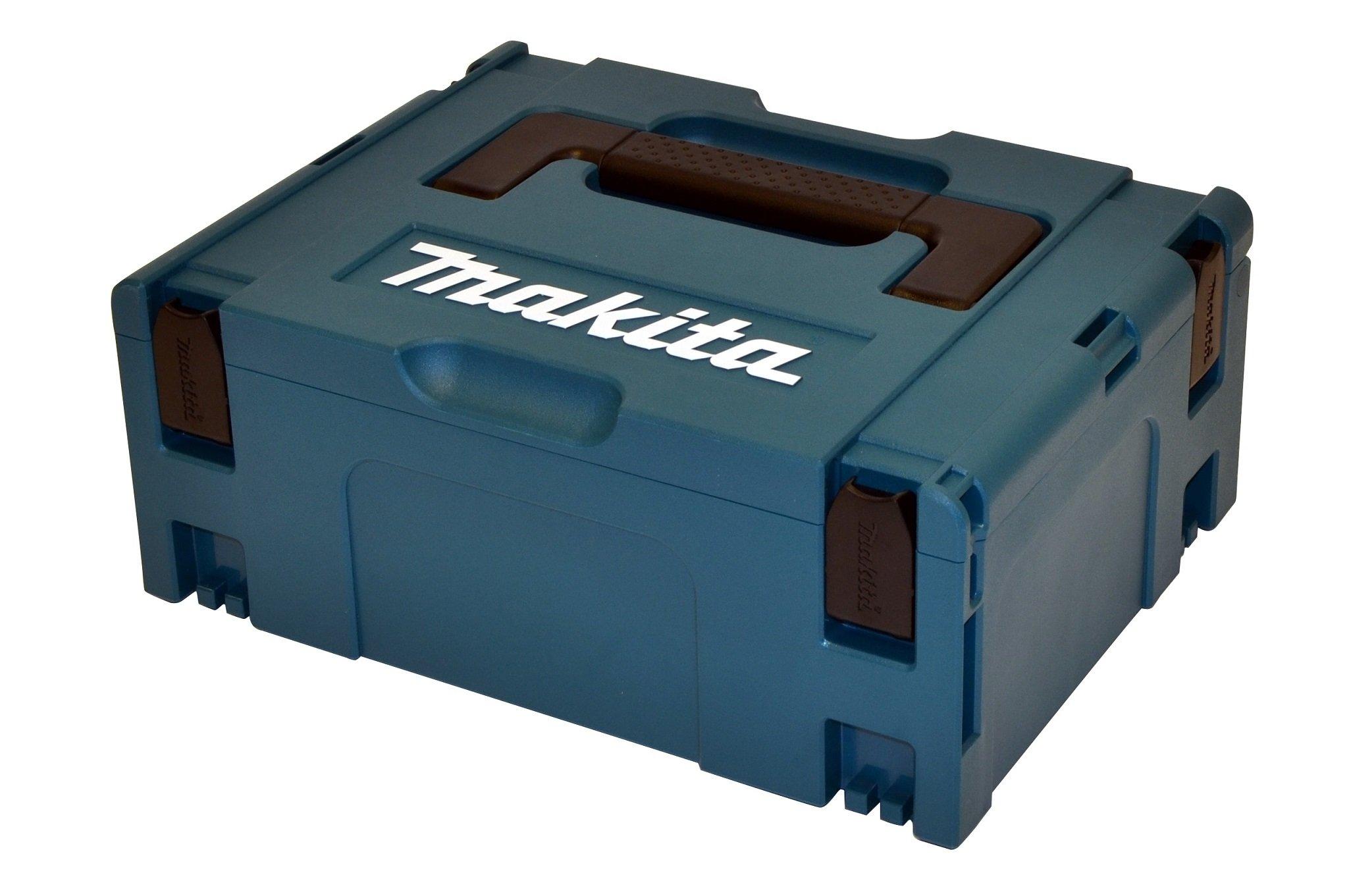 Makita-Akku-Bohrschrauber-18-V50-Ah-im-Makpac-inklusive-2-Akkus-und-Ladegert-DDF459RTJ