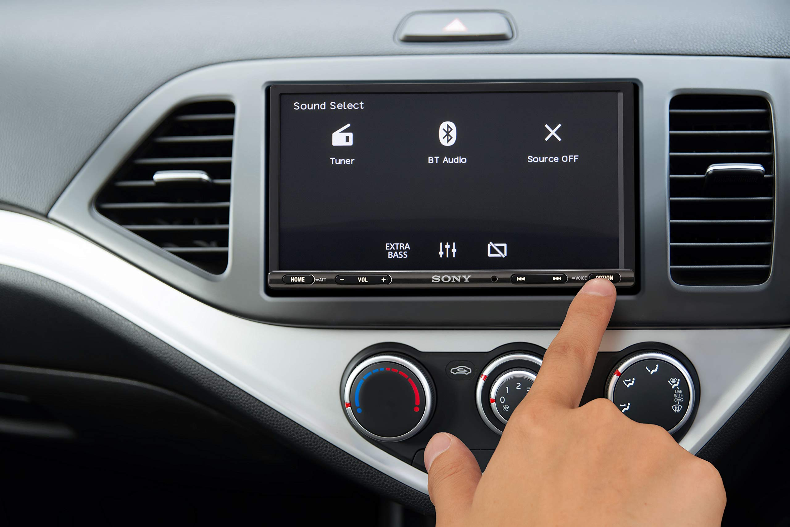 Sony-XAV-AX3005-Premium-Media-Receiver-695-Zoll-DAB-Bluetooth-Apple-CarPlay-Android-Auto