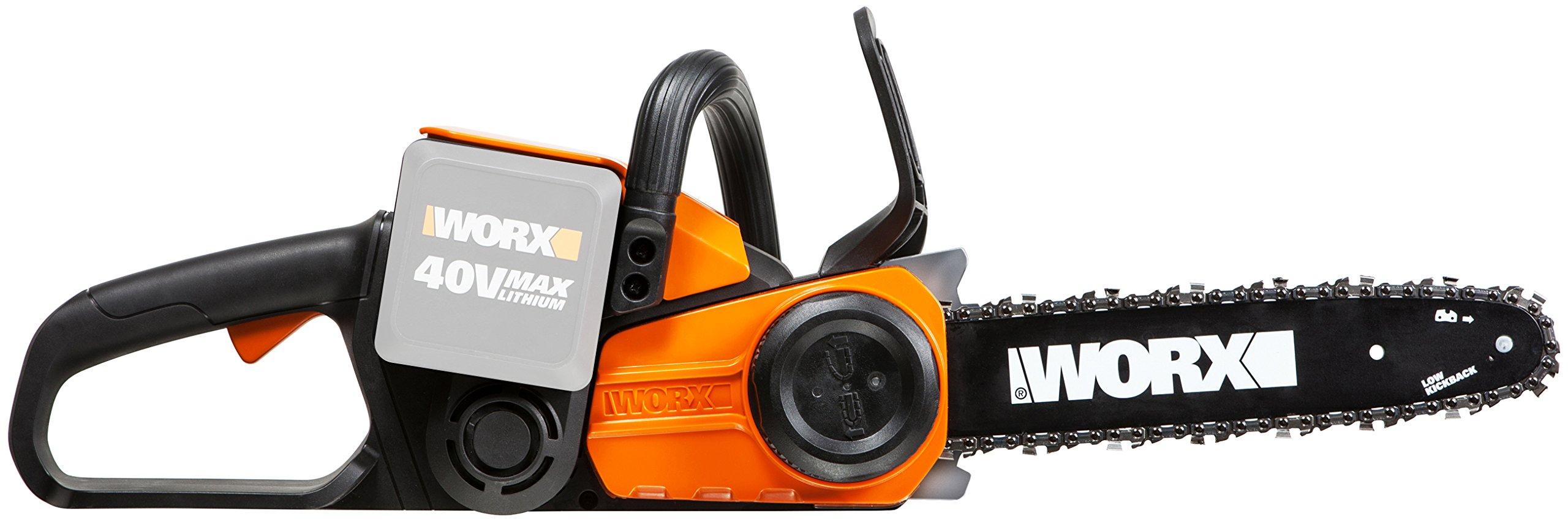 Worx-WG368E9-40V-Akku-Kettensge-30-cm-Schnittlnge-Kettenschmierung-Geschwindigkeit-38-ms-ohne-Akku-Ladegert-und-Zubehr