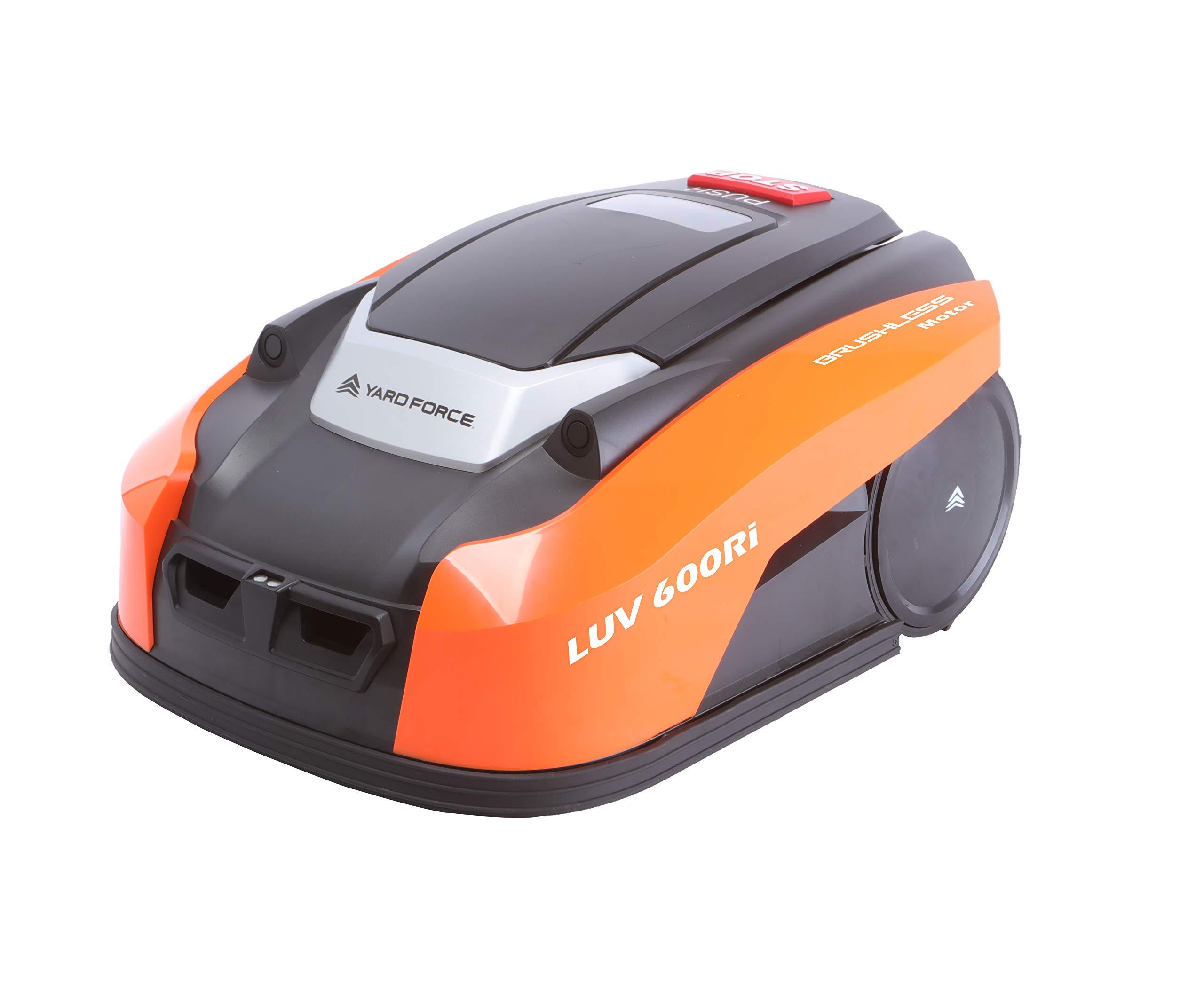 YARD-FORCE-Mhroboter-LUV-600Ri-bis-zu-600-qm-Selbstfahrender-Rasenmher-Roboter-mit-WLAN-Verbindung-App-Steuerung-iRadar-Ultraschallsensor-Kantenschneide-Funktion-und-brstenloser-Motor