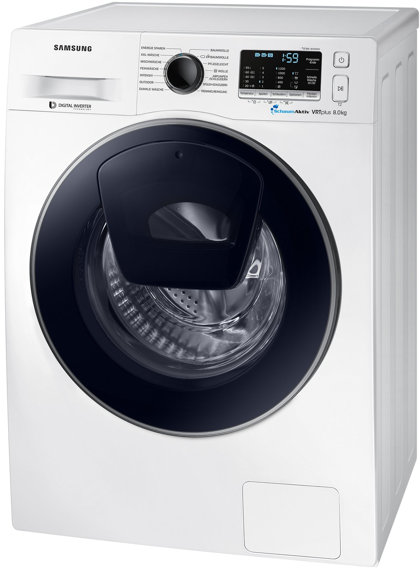 Samsung-SLIM-WW5500-WW80K52A0VWEG-AddWash-Waschmaschine-A-1200-Umin-8-kg-ECO-Trommelreinigung