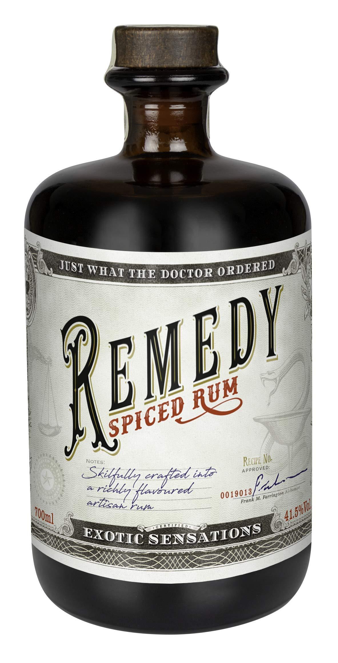 Remedy-Spiced-Rum-Basis-1-x-07-l-Remedy-Spiced-ist-ein-feiner-Blend-aus-karibischen-Rums