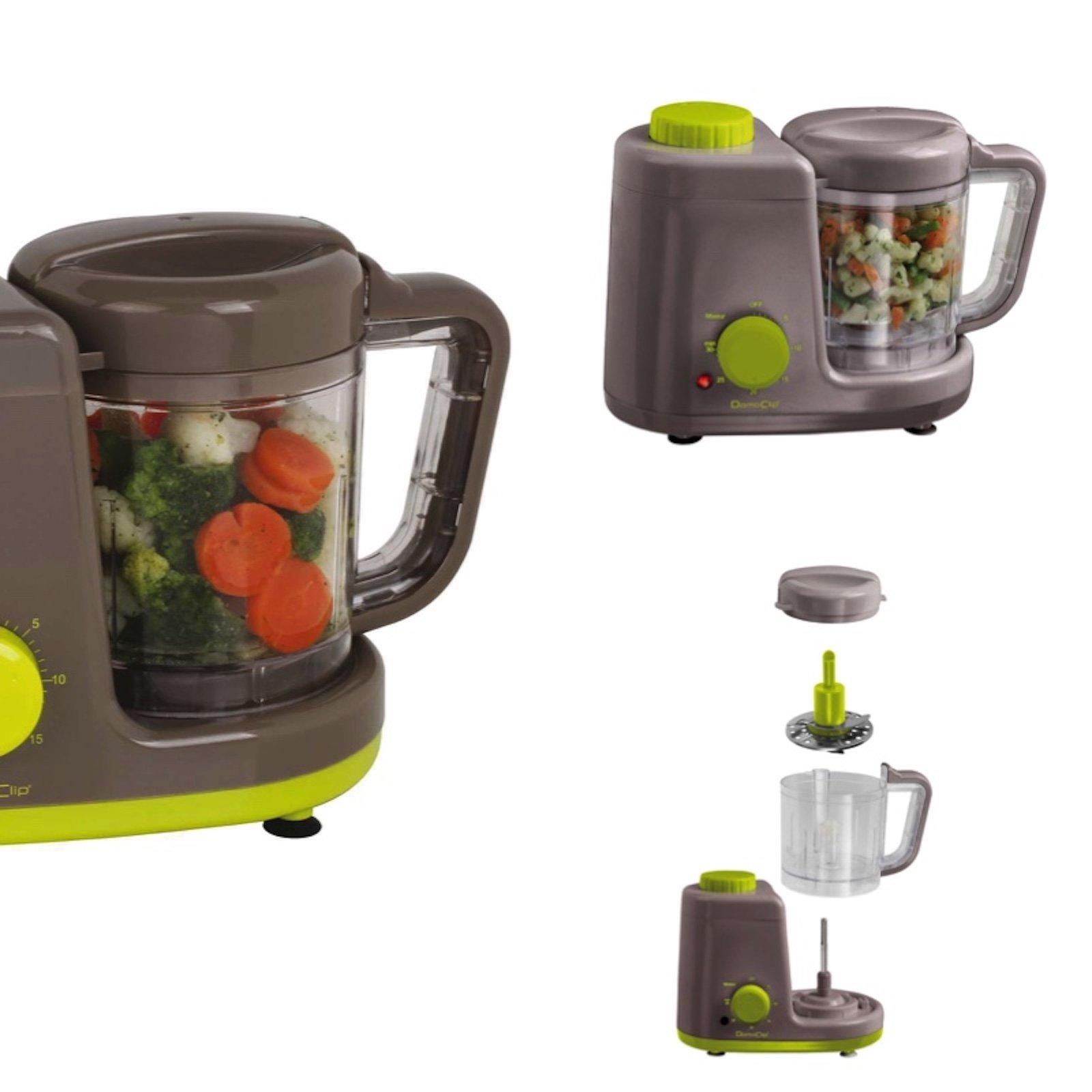 4in1-Mixer-Dampfkocher-Warmhaltfunktion-Zubereitung-fr-Babynahrung-Dmpfer-Dampfgarer-Timer-Standmixer-Smoothie-Maker-Baby-Kchenmaschine