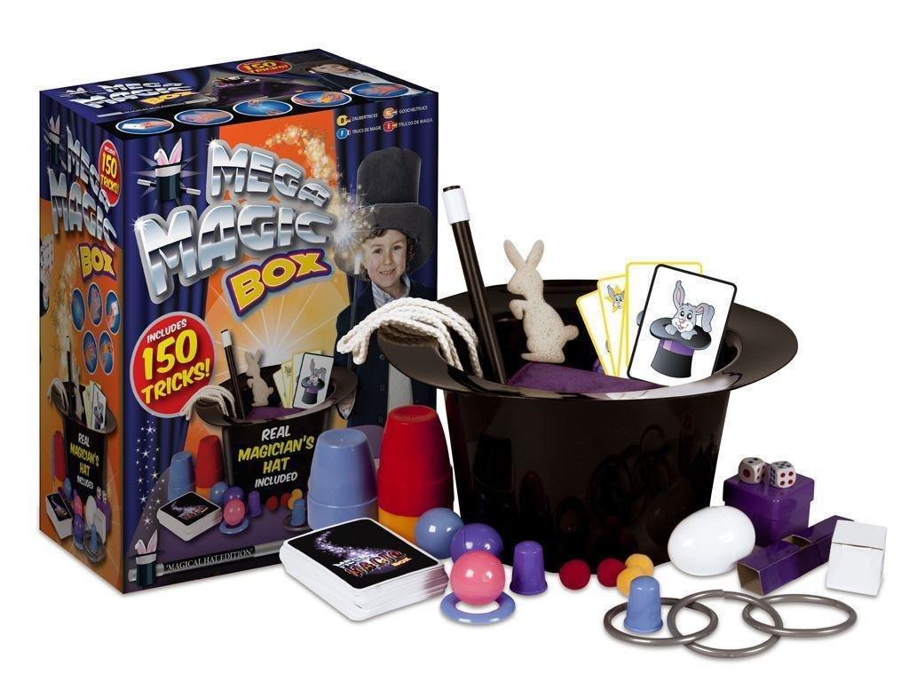 Zauberkasten-fr-Kinder-150-Tricks-mit-Zauberhut-Zauberstab-Kaninchen-Zaubervorstellung-Spielzeug-Set