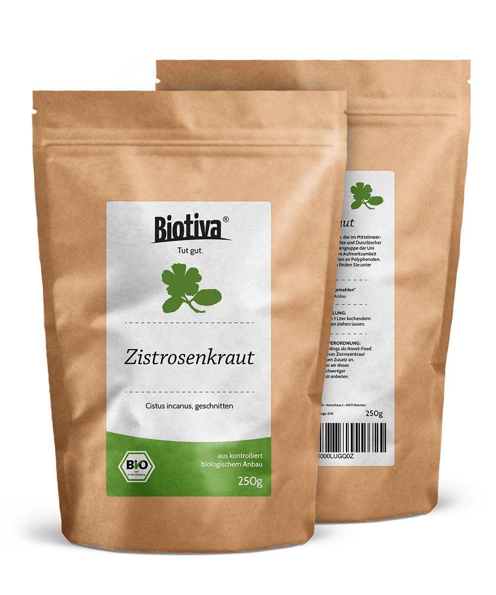 BIO-Zistrosenkraut-250g-Cistus-Incanus-hochwertigste-Bio-Qualitt-Vorratspackung-im-wiederverschliebaren-Frischebeutel-Geprfte-Biotiva-Qualitt
