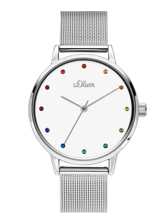 sOliver-Damen-Analog-Quarz-Uhr-mit-Edelstahl-Armband-SO-3780-MQ