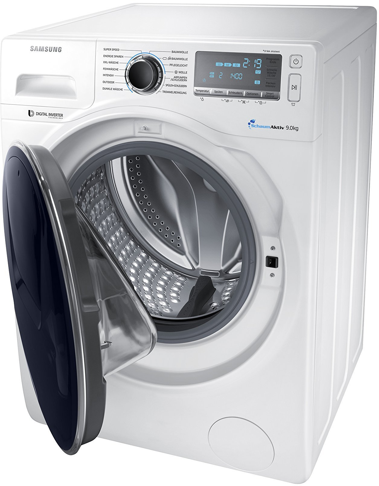 Samsung-WW90K7405OWEG-Waschmaschine-FL-A-151-kWh-Jahr-1400-UpM-9-kg-Add-Wash-WiFi-Smart-Control-Super-Speed-Wash-Digital-Inverter-Motor-wei