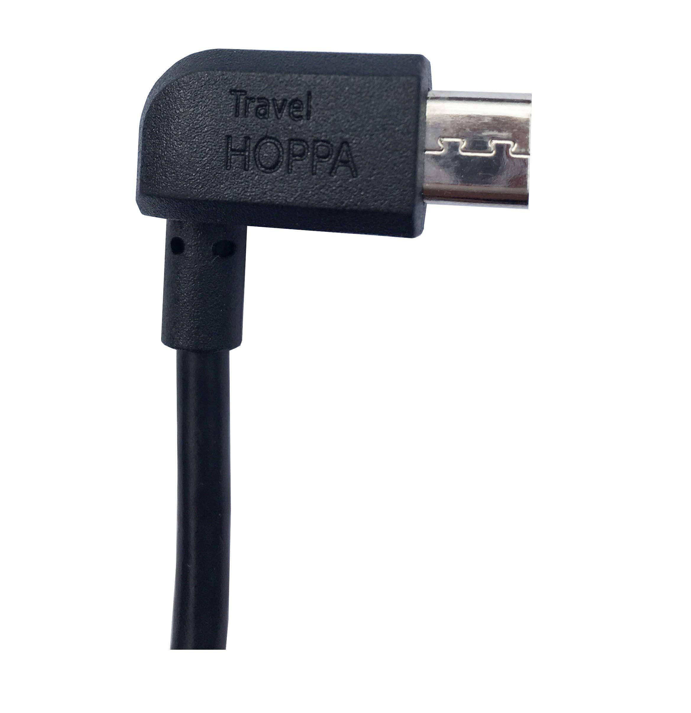 Auto-Ladekabel-fr-TomTom-Navigationssysteme-rechts-abgewinkeltes-Micro-USB-Kabel-15-m