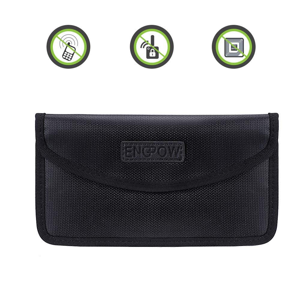Signal-Blocker-Autoschlssel-Handy-Signalblocking-Beutel-Faraday-Bag-Fireproof-Car-Schlsselanhnger-Aufbewahrungstasche