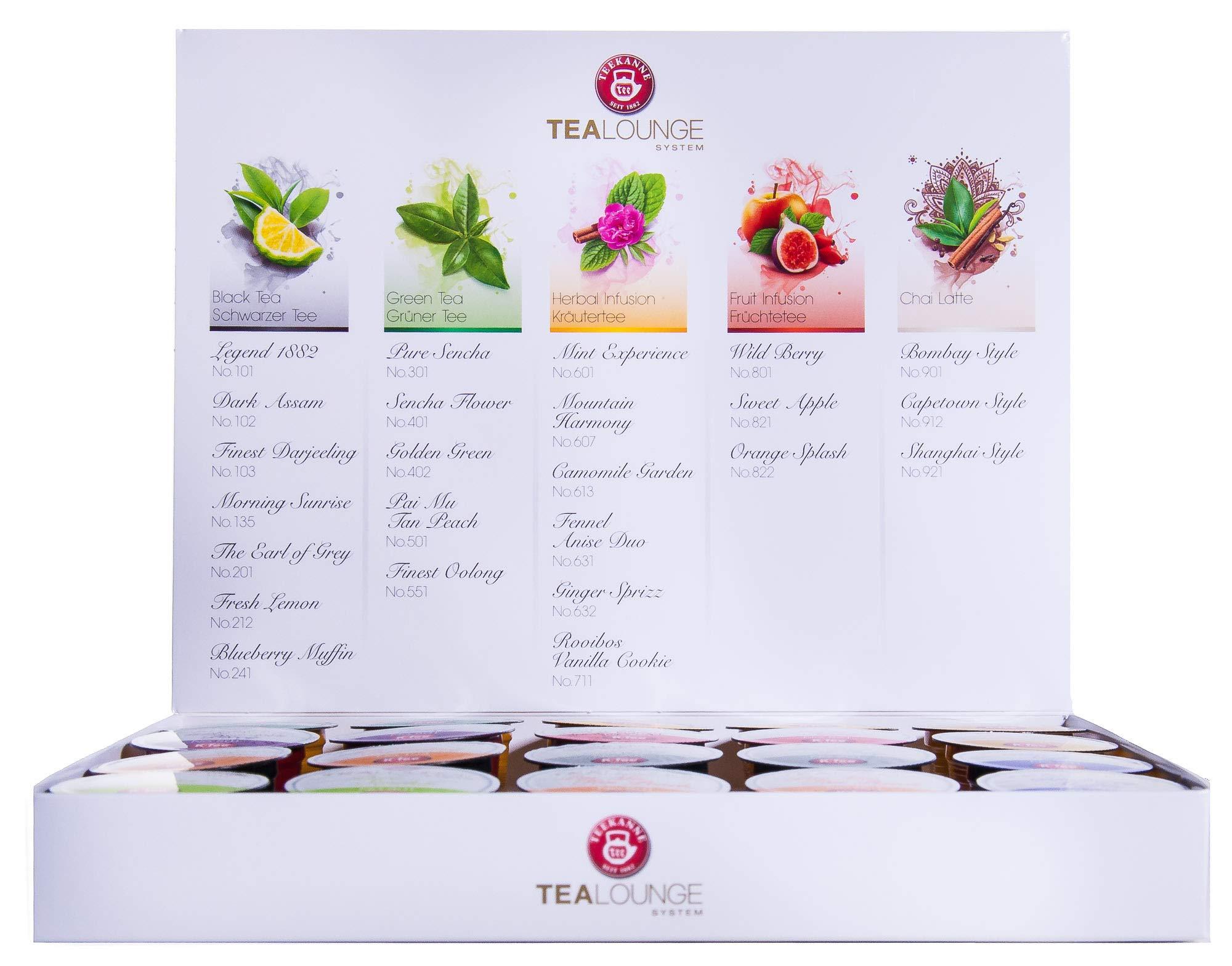 Teekanne-Tealounge-Kapseln-20-Teekapseln-Probierset-Geschenkbox