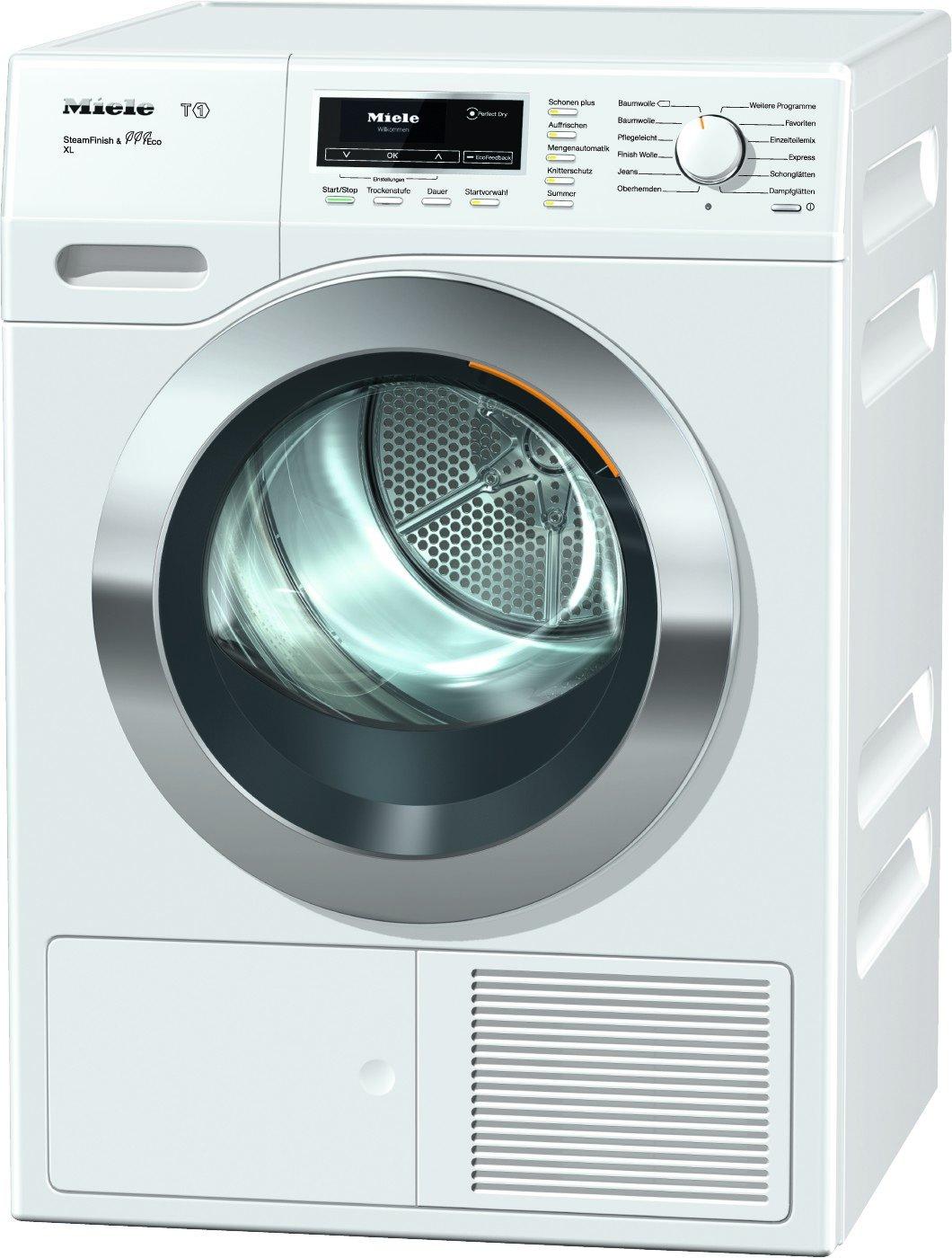 Miele-TKR-850-WP-Wrmepumpentrockner-Energieklasse-A-193kWhJahr-9kg-Schontrommel-Dampffunktion-zum-Vorbgeln-der-Wsche-Duftflakon-fr-frisch-duftende-Wsche-Startvorwahl-Knitterschutz